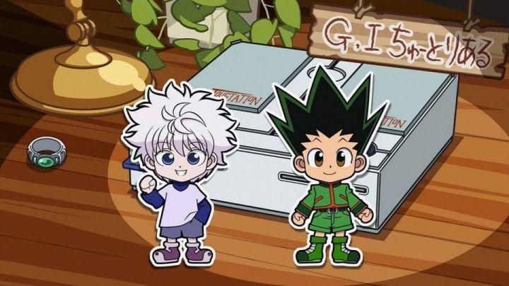 新アニメ版HUNTER×HUNTERのグリードアイランド編のミニコーナーは「G・Iちゅーとりある」