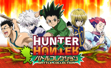 HUNTER×HUNTERのソーシャルゲームの「HUNTER×HUNTERバトルコレクション」がリリース決定