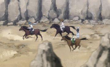 腕組み直立不動で乗馬しているキルアのバランス感覚について考察