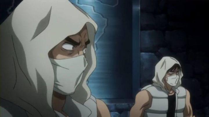 新アニメ版HUNTER×HUNTERでウェルフィンが人間だった頃のNGL構成員ザイカハルが登場
