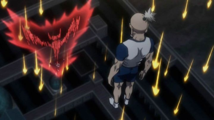上空から奇襲したネテロとゼノに対してネフェルピトーが悪手にならない方法を考察