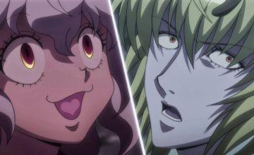ゼノの念能力「龍星群(ドラゴンダイブ)」を見たネフェルピトーの舌がハートになっている