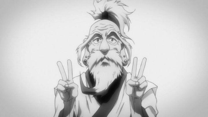 新アニメ版HUNTER×HUNTERで永井一郎さんの死去によりネテロの遺影がエンドカードで登場