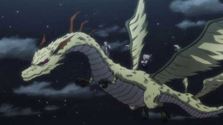 ゼノとシルバが乗っているドラゴンについて考察