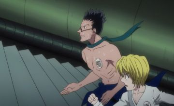 新アニメ版HUNTER×HUNTERでハンター試験のマラソン中にクラピカの顔が作画崩壊している
